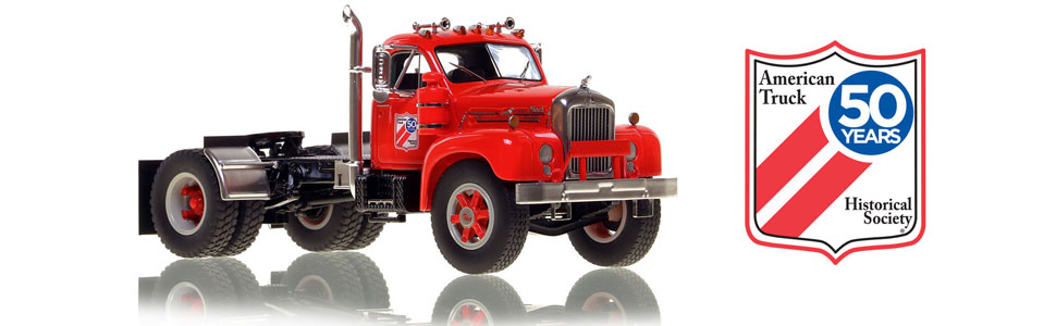 ATHS 50th Anniversary National Convention Show Model Mack B-61 scale model