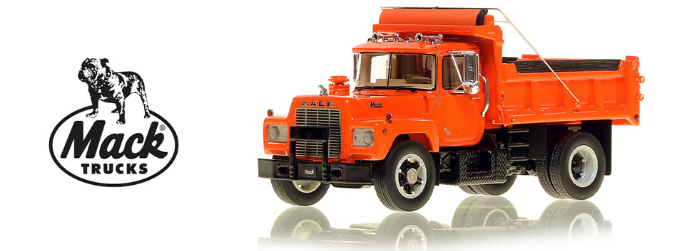Order your Mack R single axle dump truck today!