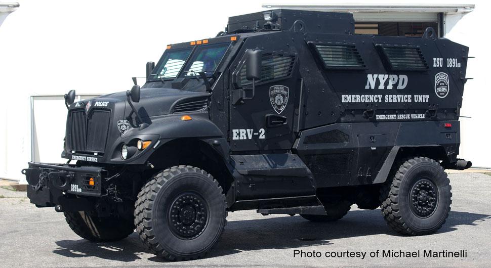 NYPD ERV-2 courtesy of Michael Martinelli