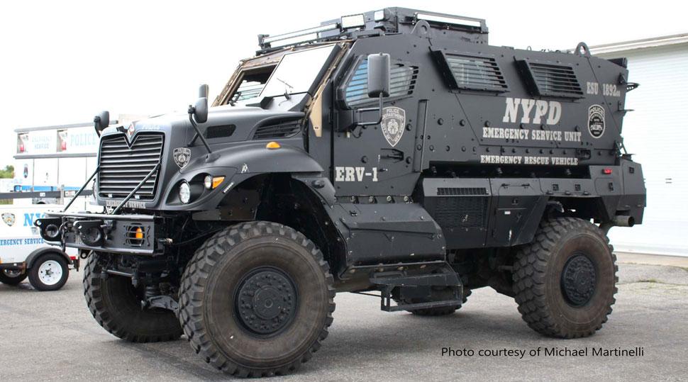 NYPD ERV-1 courtesy of Michael Martinelli