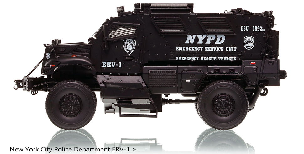 Order your NYPD ERV-1 International MVP 4x4 today!