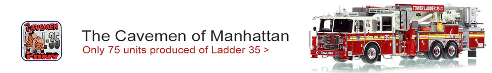 See the all new FDNY Tower Ladder 35 in Manhattan!