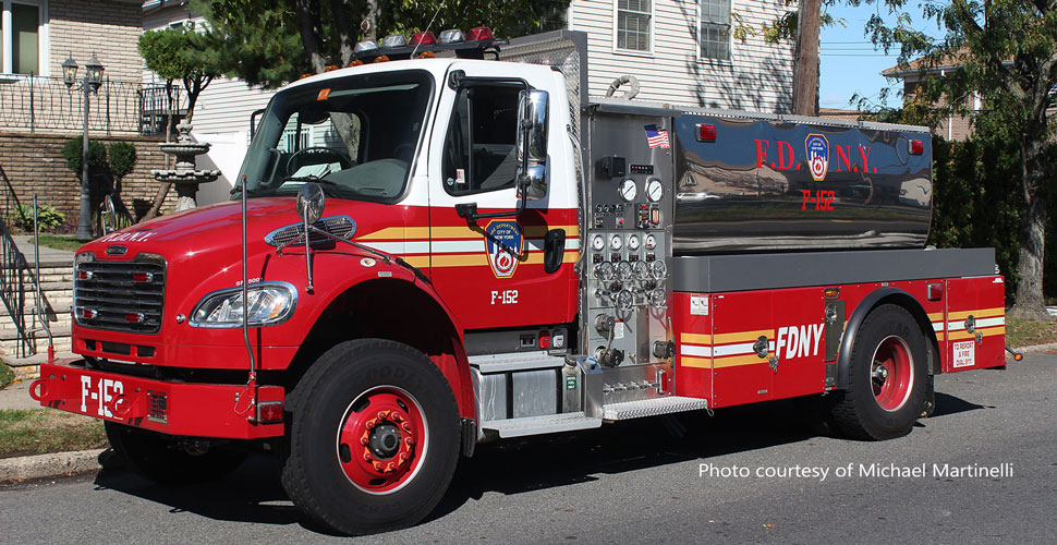FDNY Freightliner M2-Seagrave Foam Tender 152 courtesy of Michael Martinelli