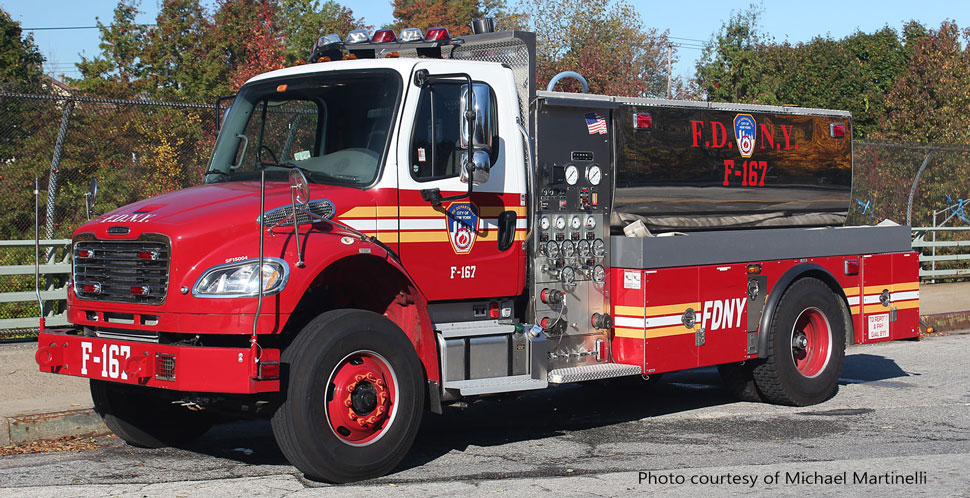 FDNY Freightliner M2-Seagrave Foam Tender 167 courtesy of Michael Martinelli
