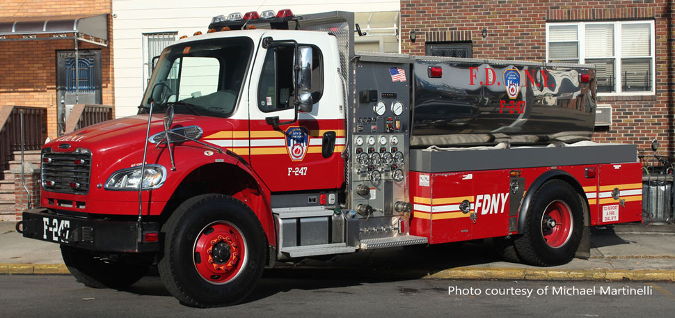FDNY Freightliner M2-Seagrave Foam Tender 247 courtesy of Michael Martinelli