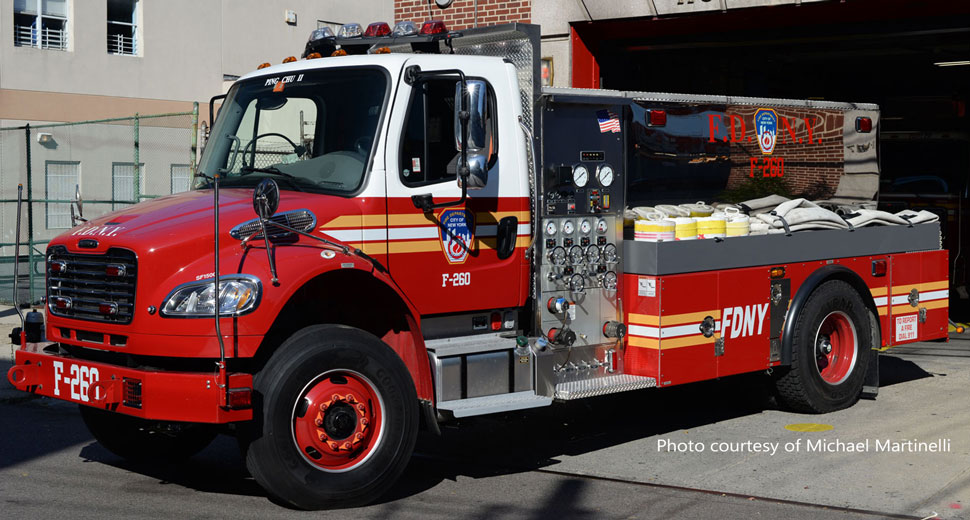 FDNY Freightliner M2-Seagrave Foam Tender 260 courtesy of Michael Martinelli