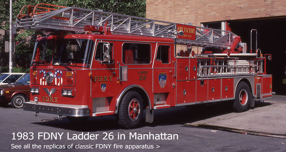 Shop our line of classic FDNY scale models