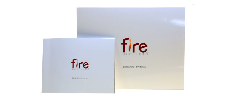 Fire Replicas 2018 Collection is available in 8x6 or 11x9