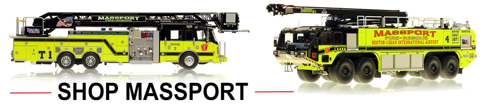 Shop Massport Fire Rescue scale model fire trucks