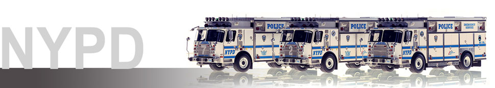 New York Police Department (NYPD) scale models