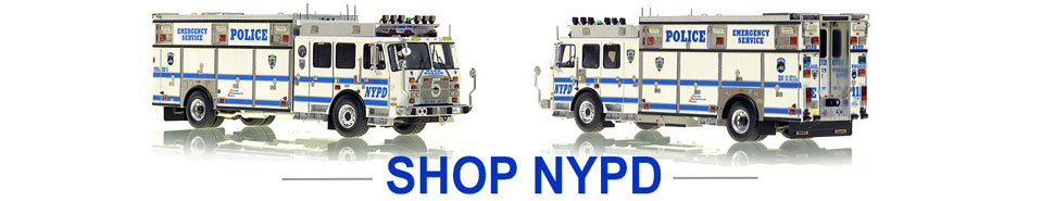 Shop NYPD Scale model Police vehicles