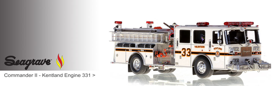 Shop Seagrave scale model fire trucks!