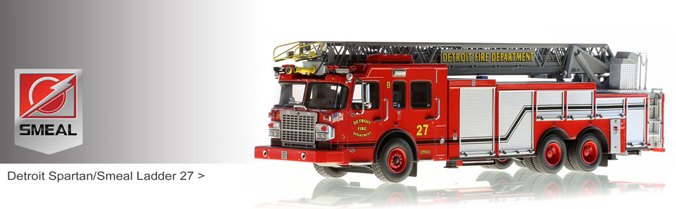 1:50 Smeal Fire Apparatus scale model fire trucks