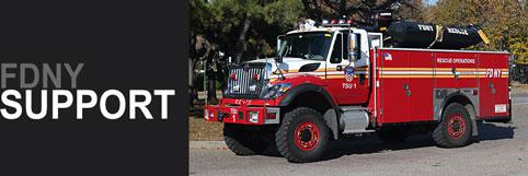 Shop FDNY Support Vehicle scale model fire trucks