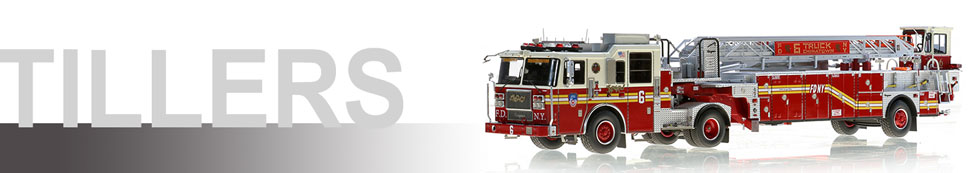 1:50 FDNY Tractor-Drawn Aerial scale models