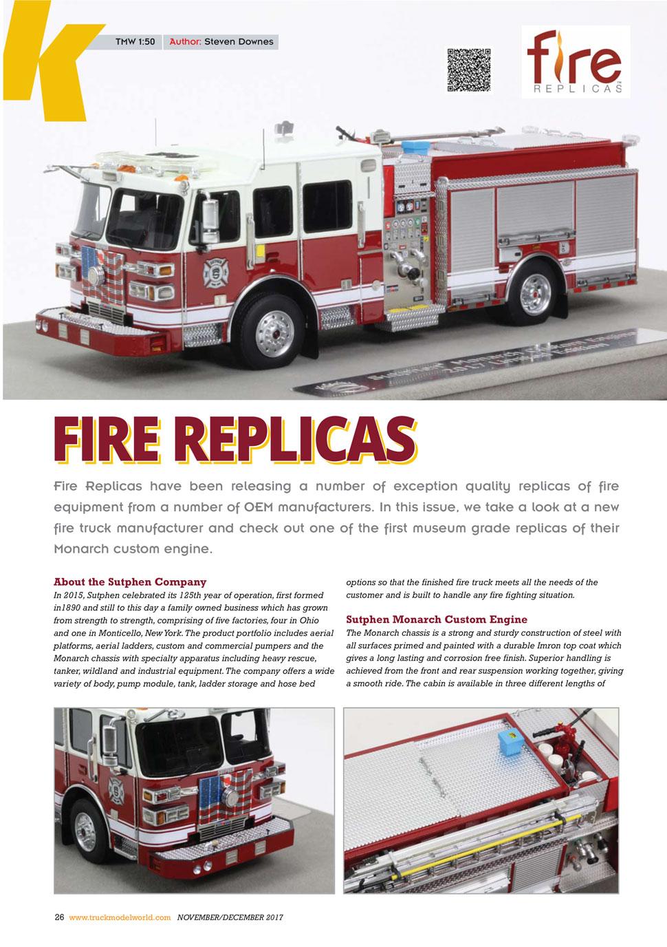 As seen in Truck Model World, U.K. magazine