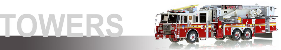 1:50 FDNY Tower Ladder scale models