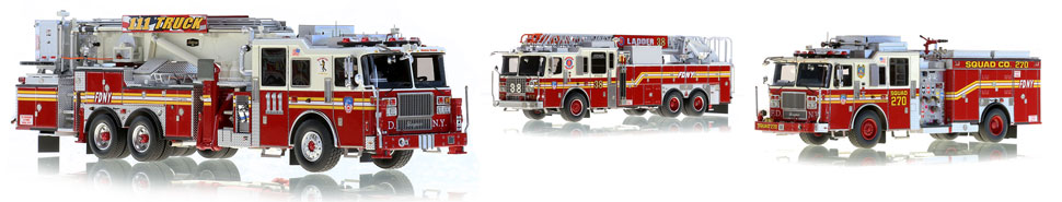 See all the FDNY scale model fire trucks