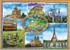 Seven Wonders of Europe, 1500 Pieces, Educa