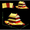 Beijing Bell and Drum Tower Metal Model Kit | Microworld