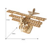 Bi-Plane Rolife Wooden Model Kit | Robotime