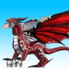 Deathwing *The Black Dragon* Metal Model Kit | Piececool
