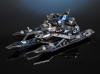 Leader No.1 Spacecraft - Metal Model Kit | Microworld