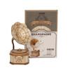 Gramophone Wooden DIY Kit | Rolife