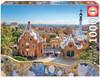 """Barcelona View from Park Güell"" 1000 Piece Jigsaw Puzzle | Educa"