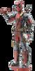 Deadpool Metal Model Kit | Metal Earth