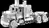 Freightliner - Long Nose Metal Earth Model Kit