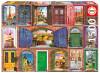 Doors of Europe, 1500 Pieces, Educa
