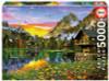 Alpine Lake, 5000 Pieces, Educa