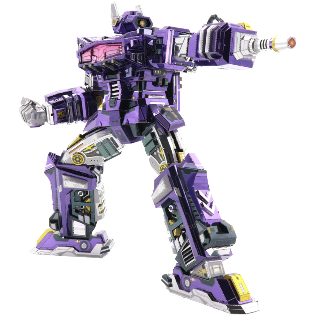 Shockwave G1 - Transformers DIY Metal Model Kit | MU Model