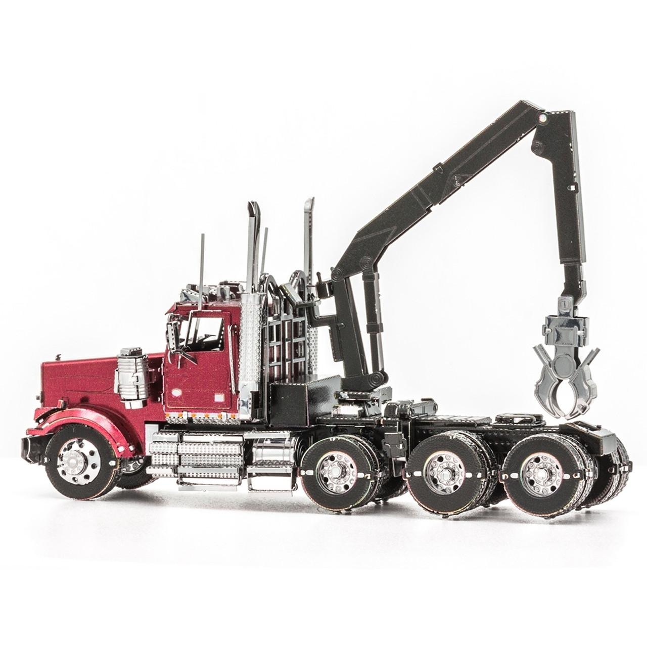 Western Star 4900 >> Western Star 4900 Log Truck Metal Earth Model
