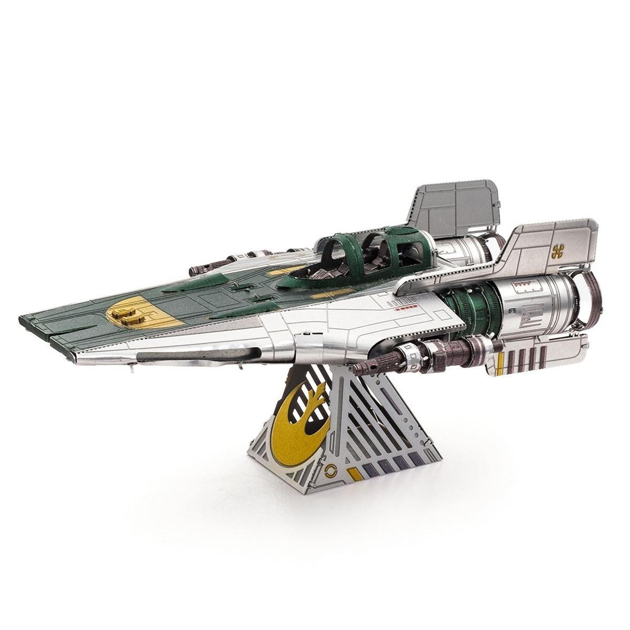 Fascinations Metal Earth Star Wars Last Jedi Resistance Bomber Vehicle Model Kit