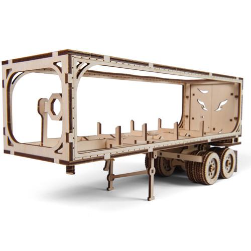 Trailer for Heavy Boy Truck VM-03 Mechanical Wooden Model Kit | UGears