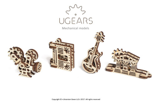 U-Fidget Creation - 3D Mechanical Wooden Model Fidget Toys | UGears