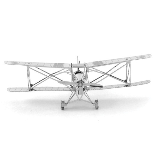 De Havilland Tiger Moth Metal Earth Model