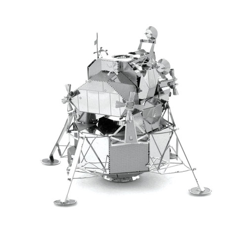 Apollo Lunar Module Metal Earth Model