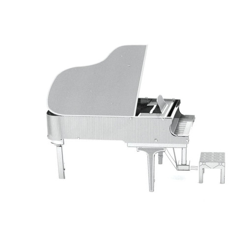 Grand Piano Metal Earth Model