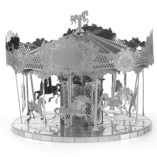 Merry Go Round Metal Earth Model