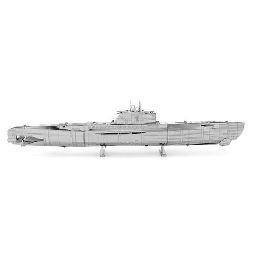 German U-Boat Type XXI Metal Earth Model