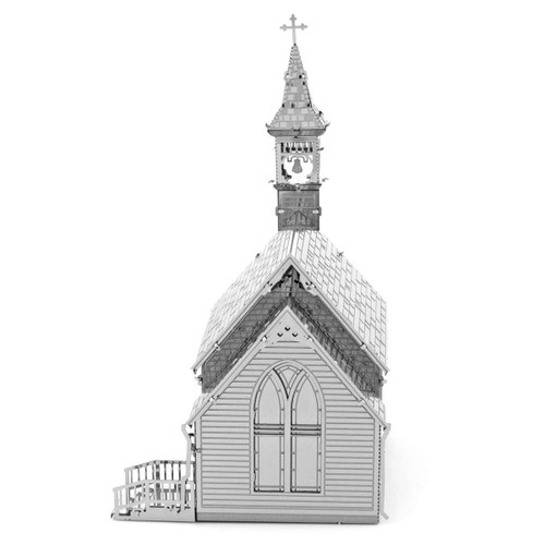 The Old Country Church Metal Earth model