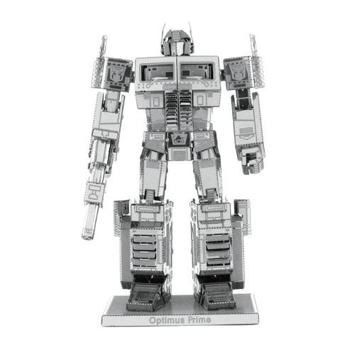 Optimus Prime Metal Earth Model