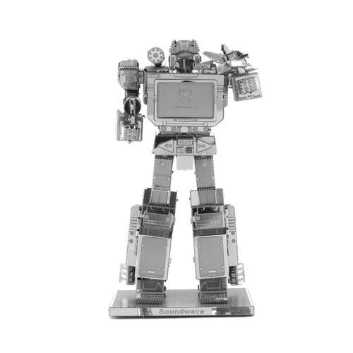 Soundwave Transformers Metal Earth Model