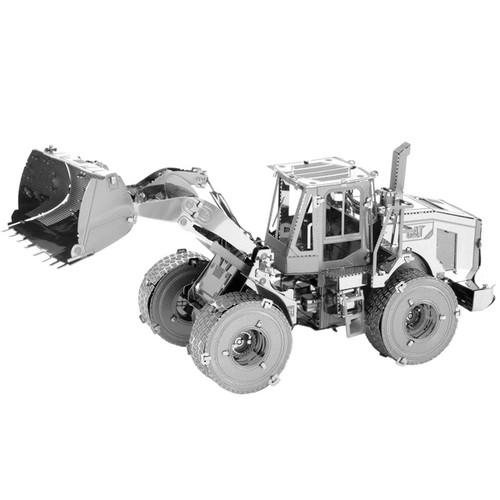 CAT Wheel Loader Metal Earth Model