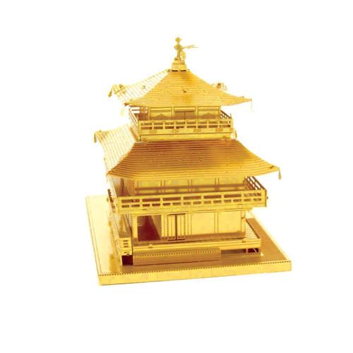Kinkaku-Ji Temple - Gold - Metal Earth Model