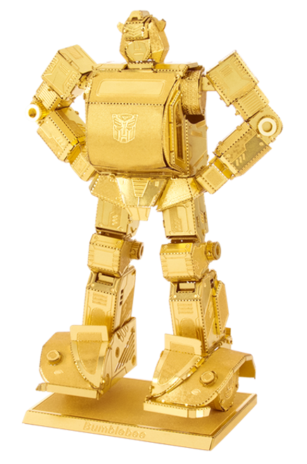 Bumblebee - Gold - Transformers - Metal Earth Model