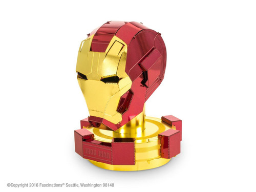 Iron Man Helmet - Marvel - Metal Earth Model